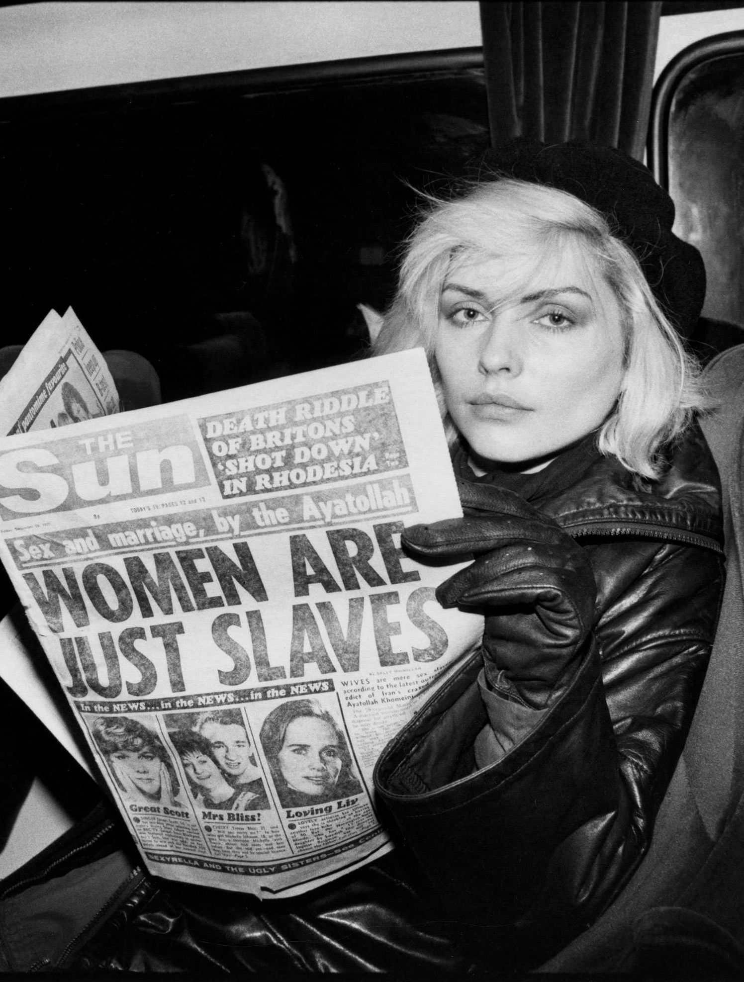 c3694265 Rare Photos of Debbie Harry From the Early Days of Blondie   artists ...