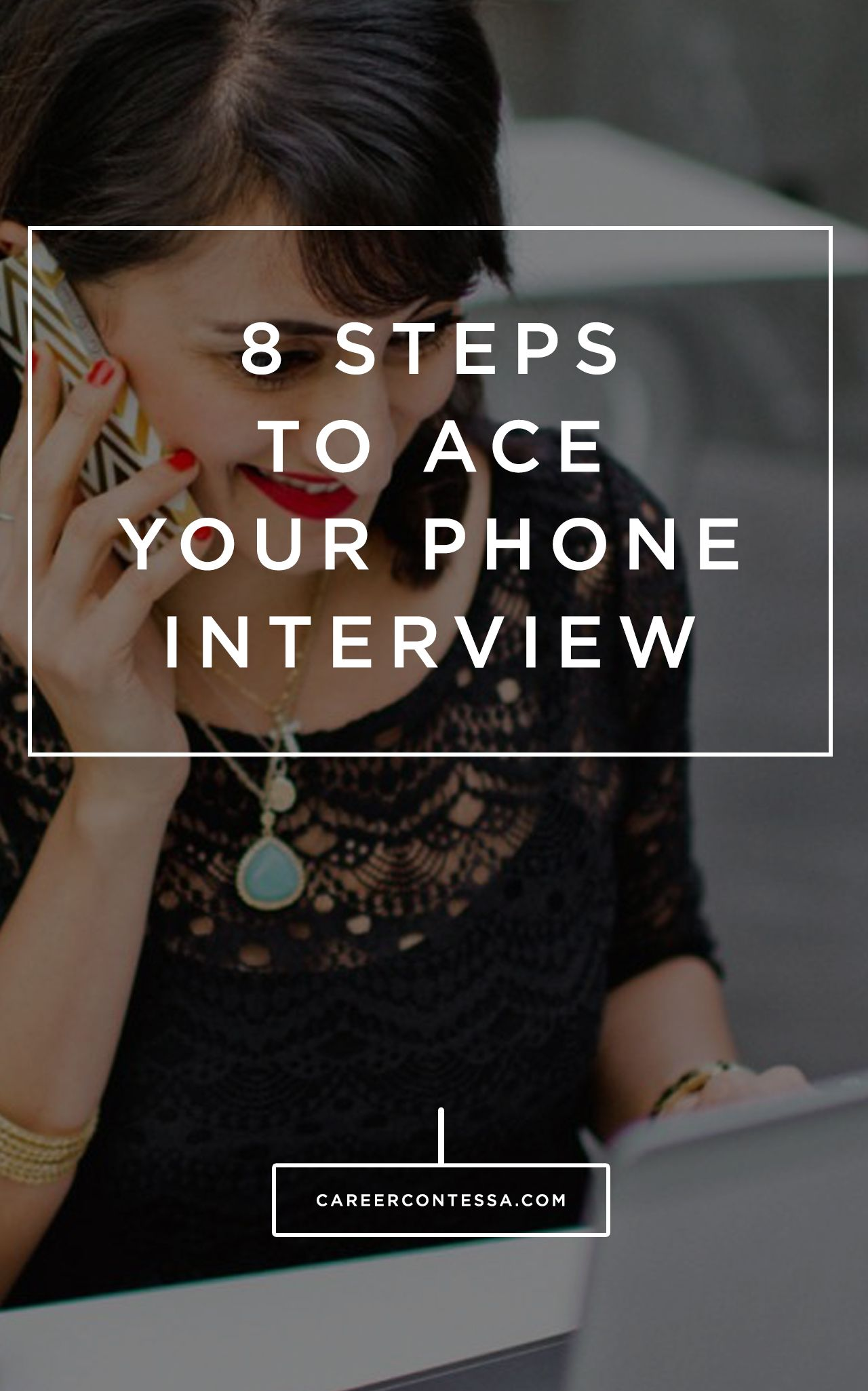 How to ace the phone screen before a job interview job