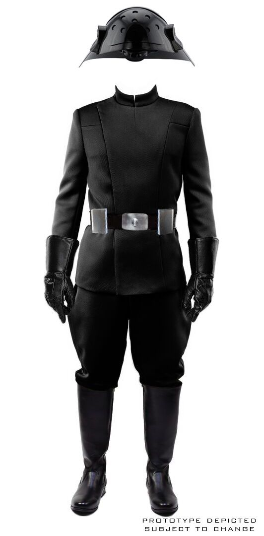Star Wars Imperial Intelligence Senior Officer Uniform Cosplay Costume Gray Suit