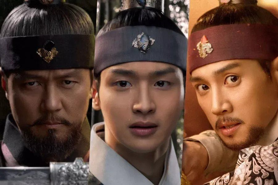"""""""Joseon Exorcist"""" Introduces Bold Main Characters In Vivid New Posters"""