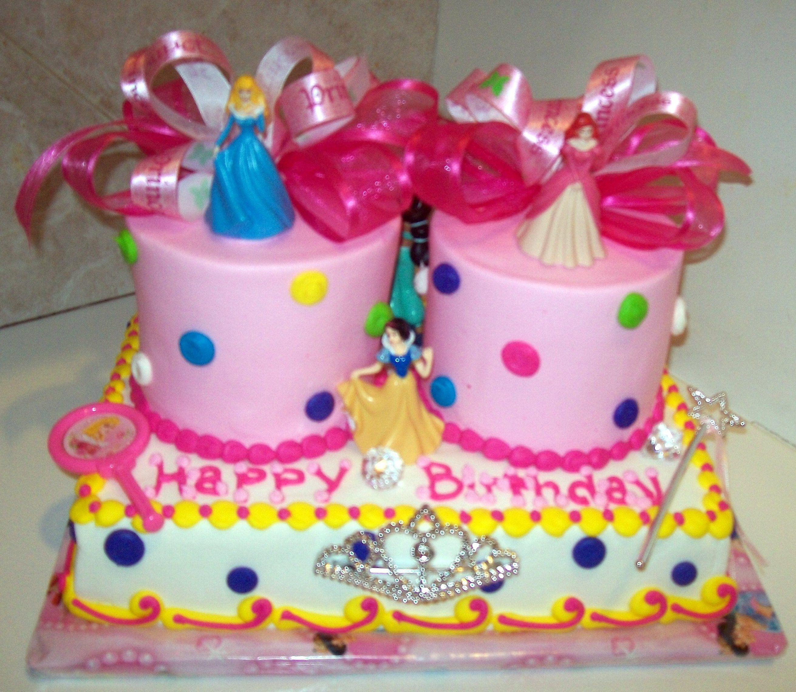 Disney princess for twins anniversaire pinterest
