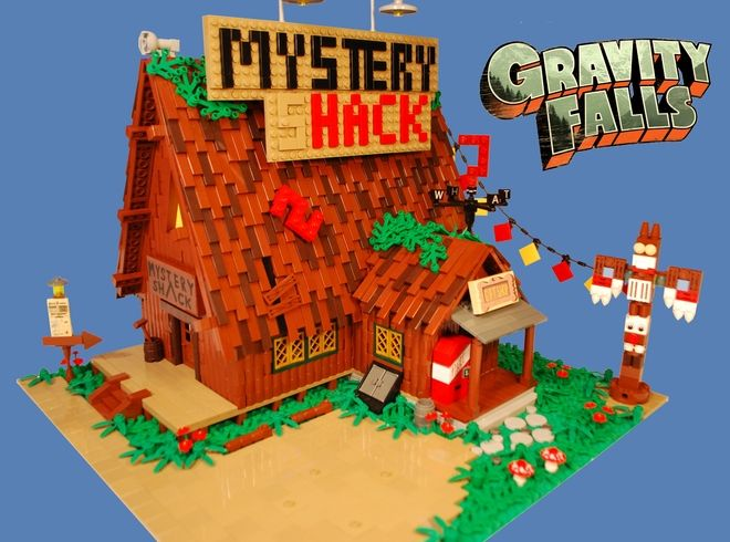 LEGO Ideas - Gravity Falls ------ SUPPORT IT!!!