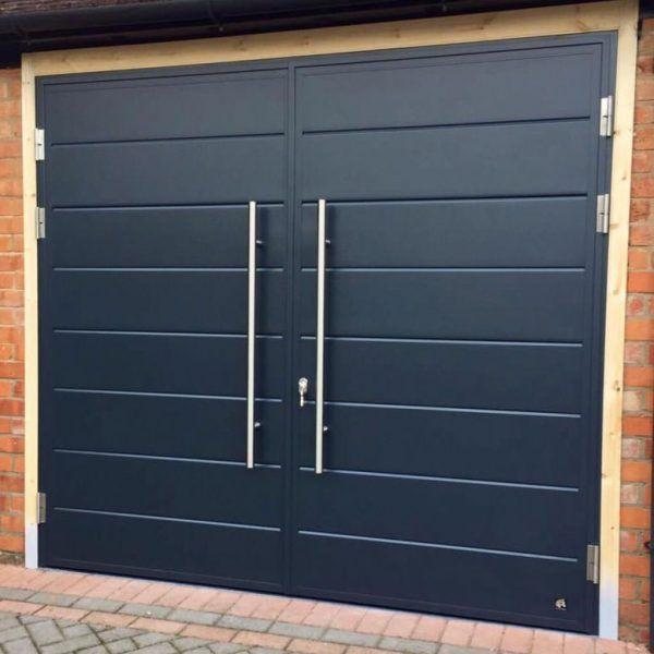Ryterna SHD side hinged garage door   Doorfit Garage Doors