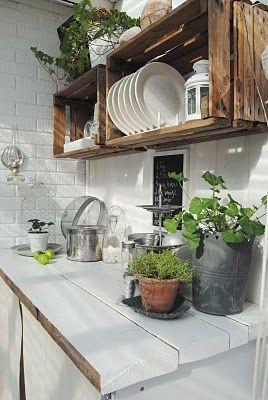 Para Tener Una Cocina Bonita No Tenemos Por Qué Moderna El Sabor De Lo Clásico Más Los Toques Aroma Y Color Las Plantas Pueden