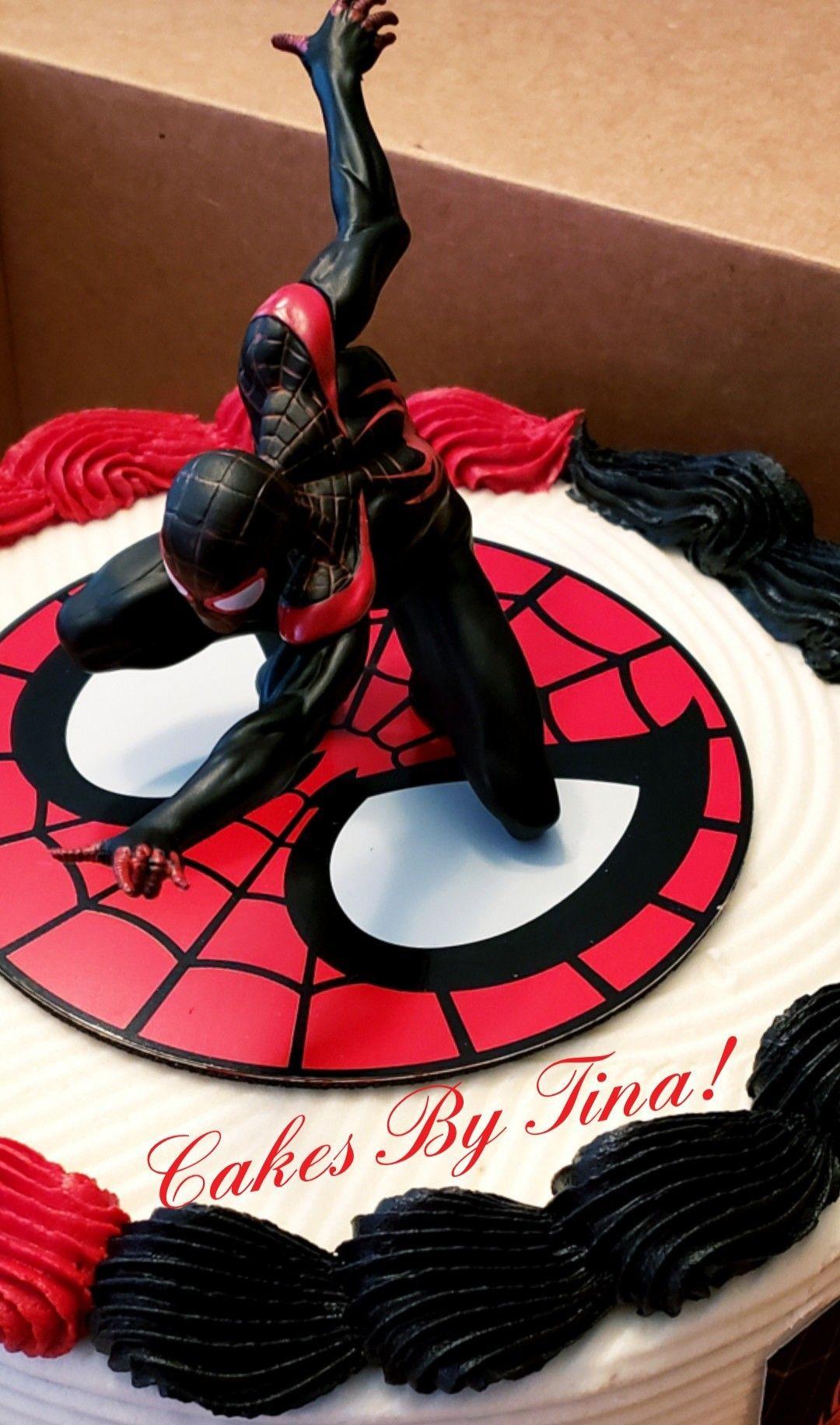 Miles Morales Cake Topper