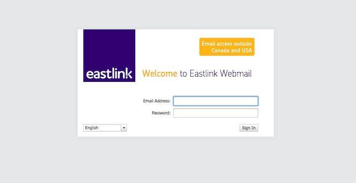 Eastlink Webmail Login Myeastlink Ca Online Email Online
