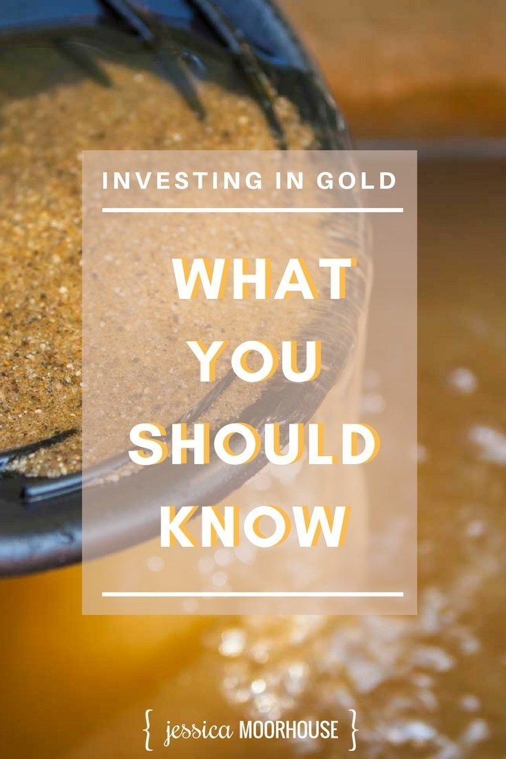 Ever thought of investing in gold it doesnt just mean