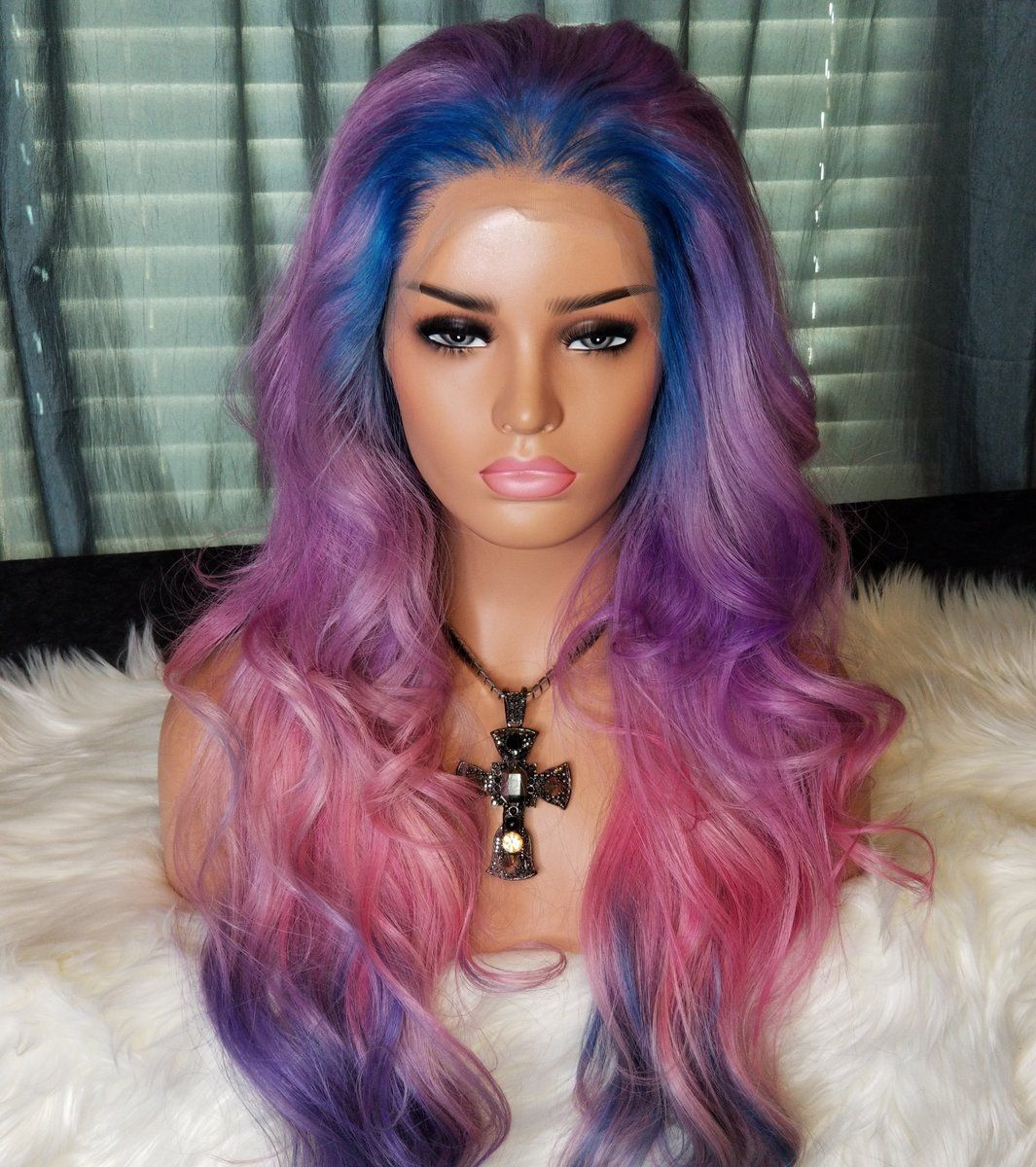 April lace wig flawless illusion hairline lace wigs