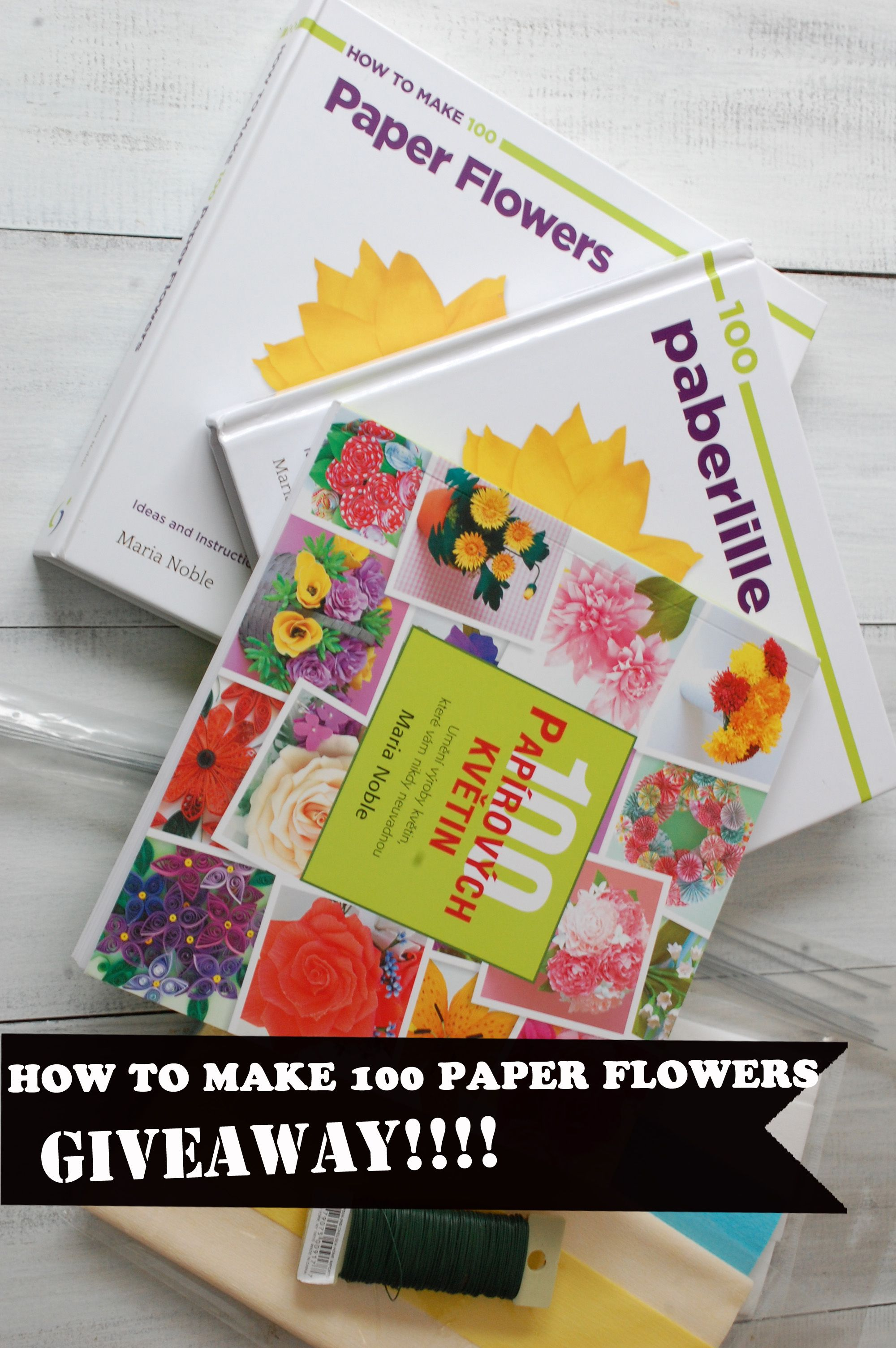 A diy crepe paper flower book giveaway now translated into a diy crepe paper flower book giveaway now translated into estonian too mightylinksfo