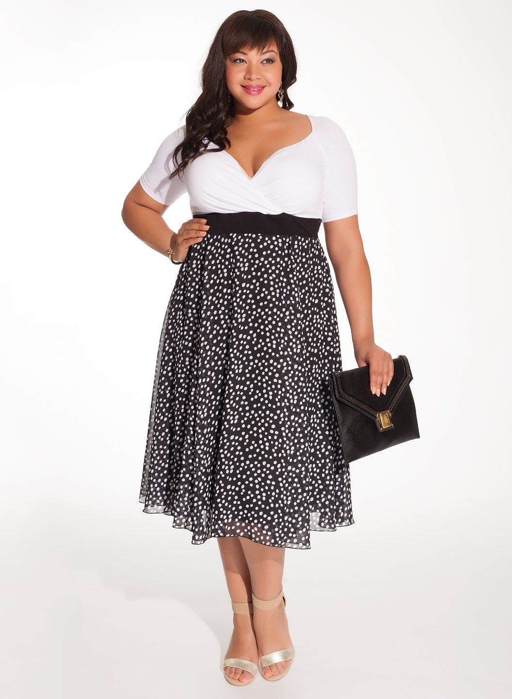 Why The Plus Size Fit And Flare Dress Is So Important To The History