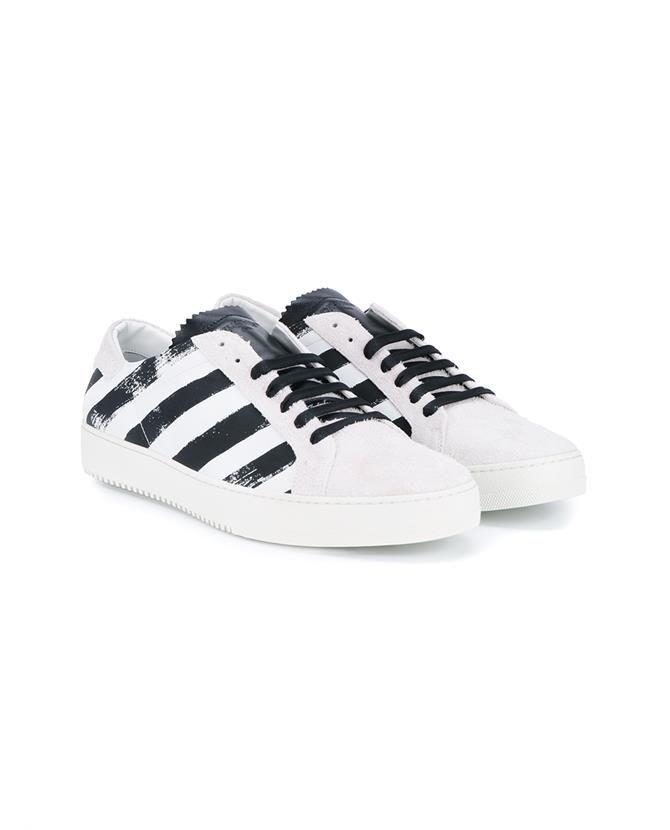 Striped sneakers, Brown sneakers, Sneakers