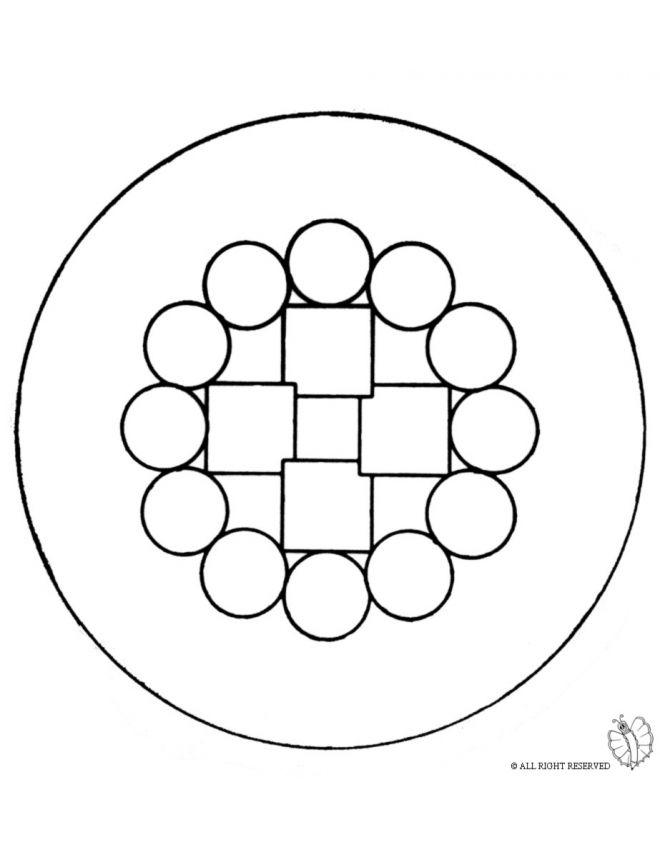 Disegno Mandala 6 Disegni Da Colorare E Stampare Gratis Per