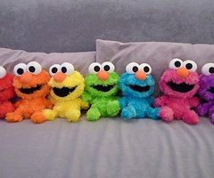 in any color, elmo has my heart!
