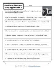 appositive phrase worksheets appositives sentence activities home school. Black Bedroom Furniture Sets. Home Design Ideas
