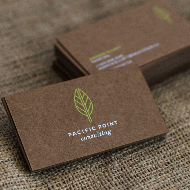 Kraft Paper Business Card | Print Ready Designs | Pinterest ...
