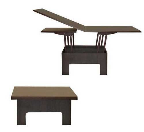 Excellent Folding Coffee Table Transforming Furniture Coffee Table Bralicious Painted Fabric Chair Ideas Braliciousco