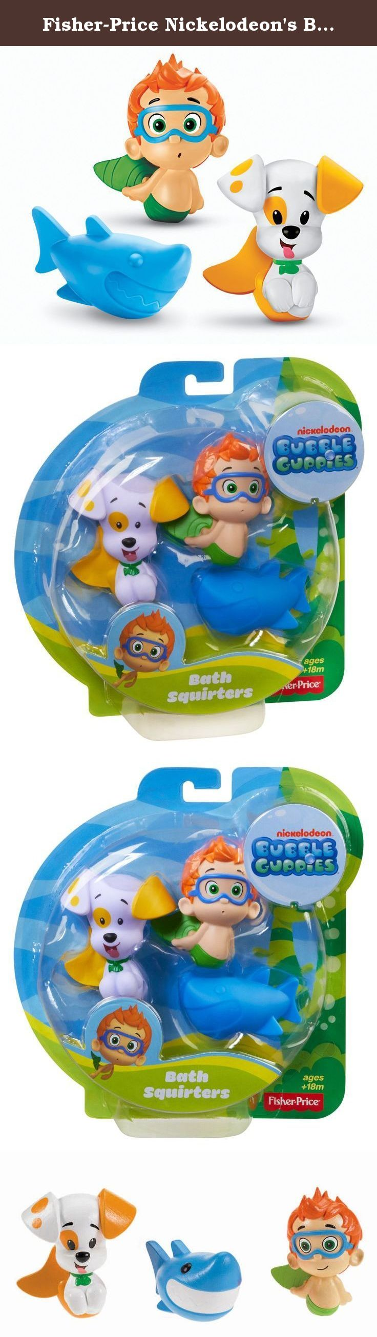 Fisher-Price Nickelodeon\'s Bubble Guppies Bath Squirters: Nonny ...