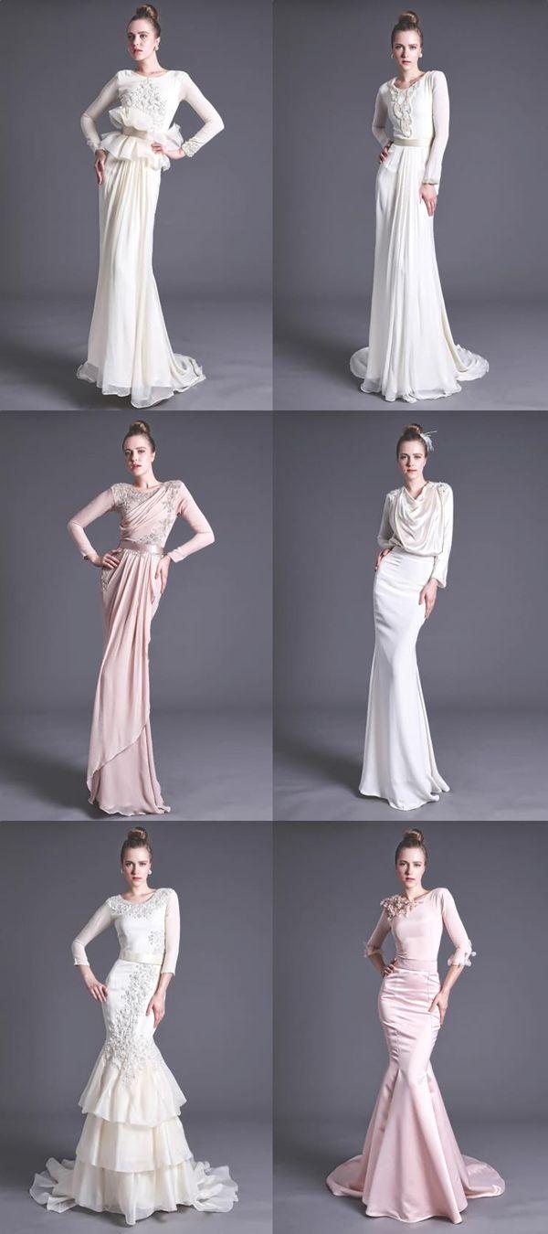 Tempah Baju Kahwin @Nurita Harith  Namee Roslan  Gaun pengantin