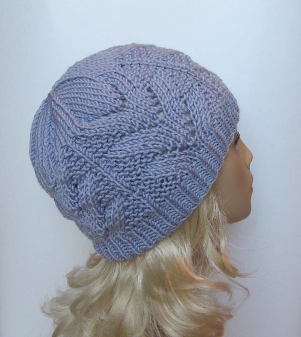 """Knit Hat """"Polina"""" for a Lady"""