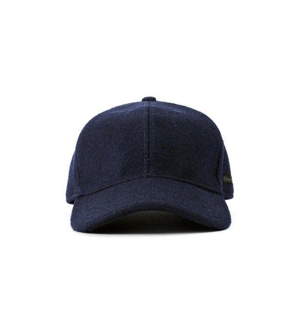 55b587cbb92 Vintage Style Wool Baseball Cap Navy CK17YHRO6E5