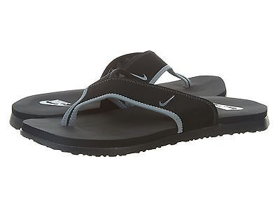 7fdf8f412a9b6 Nike Celso Thong Plus Mens 307812-018 Black Grey Sandals Flip Flops Size 10