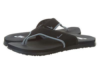 Nike Celso Thong Plus Mens 307812-018 Black Grey Sandals Flip Flops Size 10