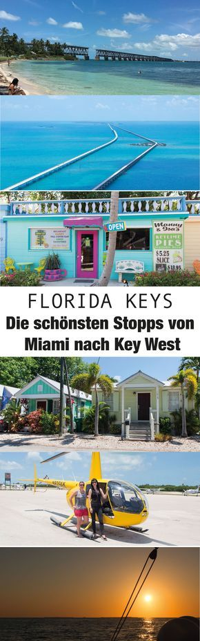 Florida Keys - 7 Highlights auf der Fahrt von Miami nach Key West #favoriteplaces