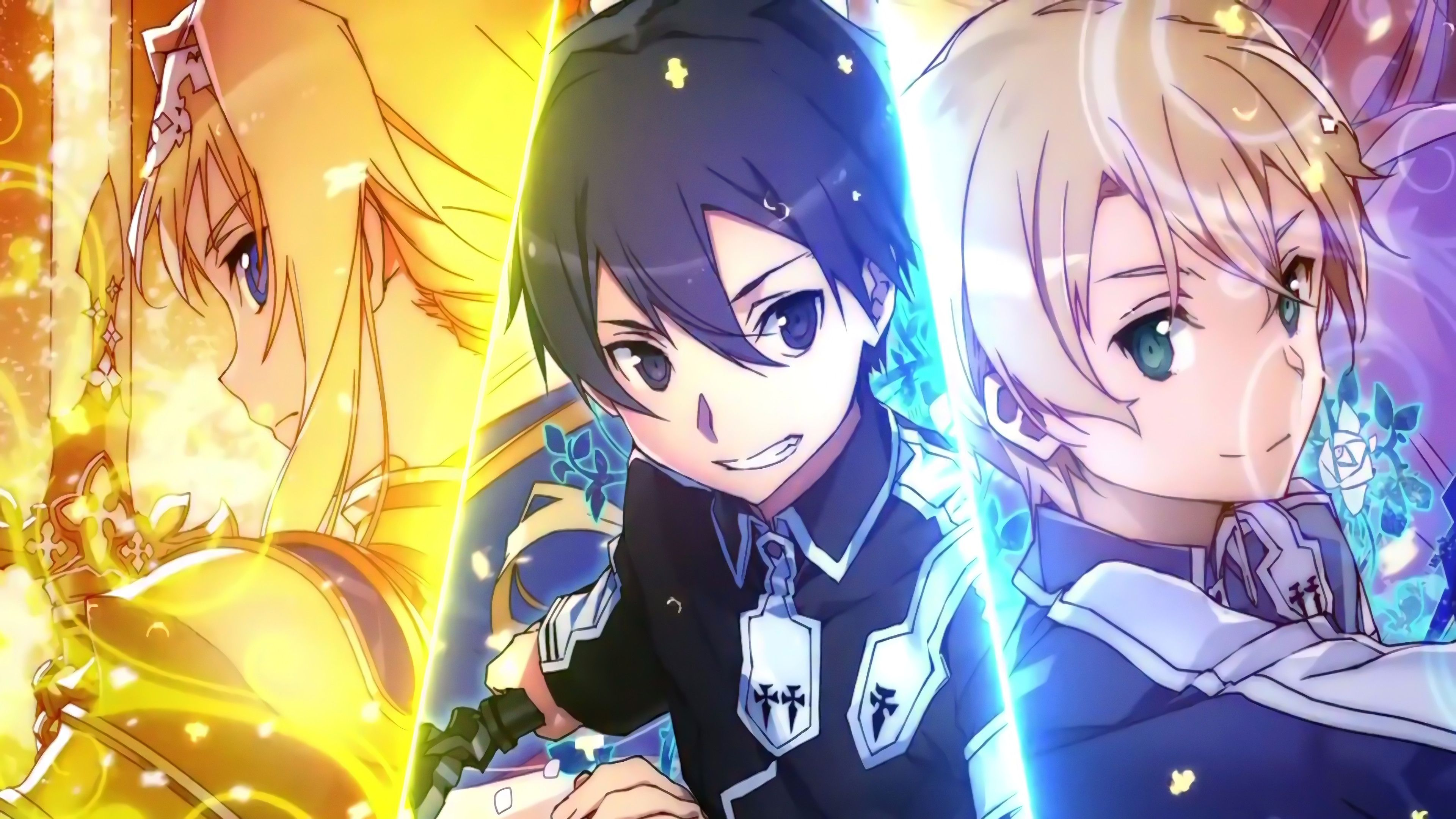 Sword Art Online Alicization Wallpapers Hd Sword Art Online Season Sword Art Online Wallpaper Sword Art