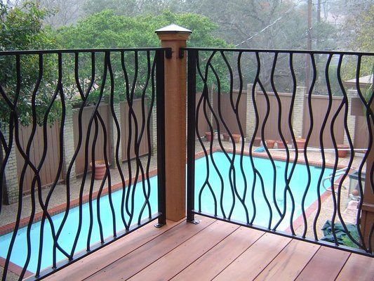 Best Branch Style Metal Railing Iron Railings Outdoor 640 x 480