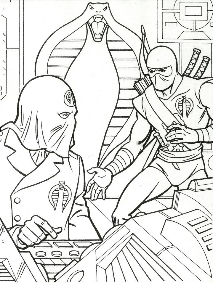 Free Printable Gi Joe Coloring Pages For Kids Coloring Pages Gi Joe Coloring Pages For Kids