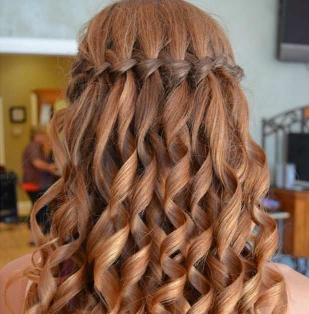 """Updos With Braids And Curls: {""""title"""":""""french Braiding Curly Hair Overnight"""",""""keyword"""