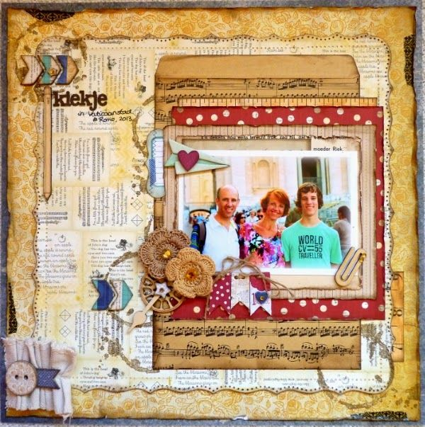 Romy Veul Created This Fabulous Layout Using The New Pop