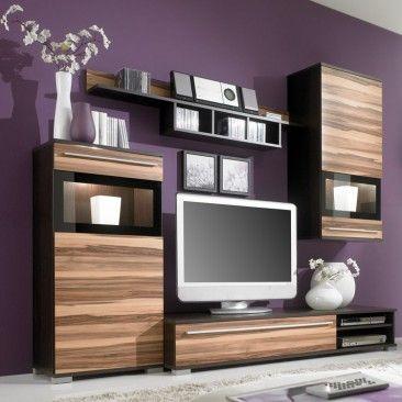 un salon zen dans lequel on associe bois et couleur pastelle tr s tendance pour ce printemps. Black Bedroom Furniture Sets. Home Design Ideas