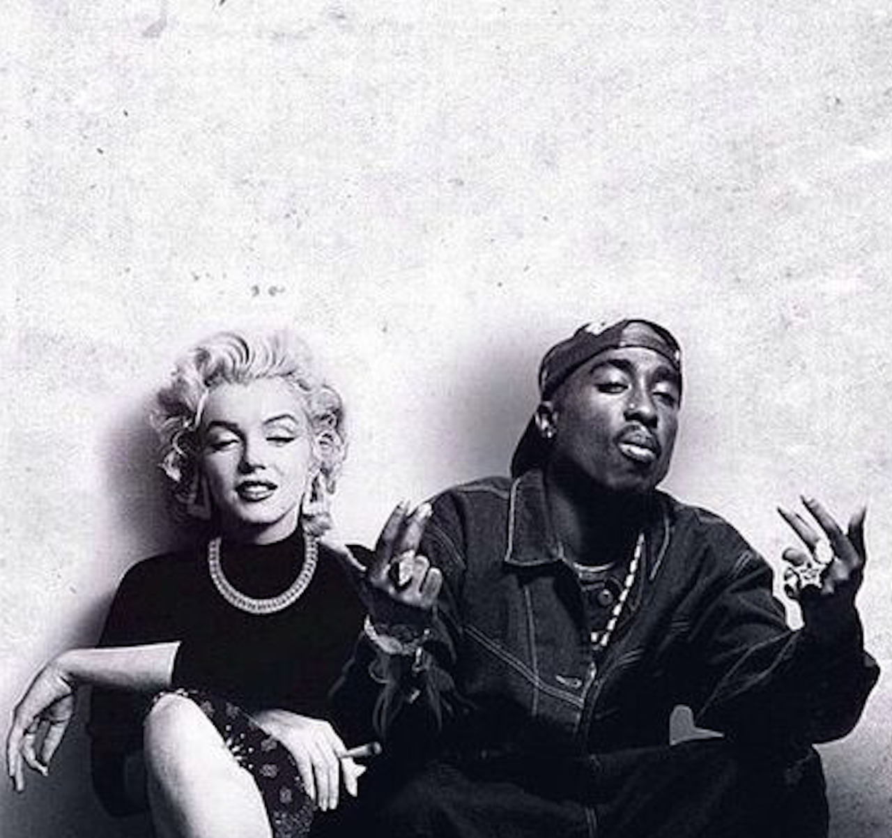 tupac shakur and marilyn monroe | music master | pinterest