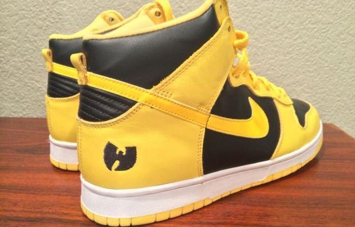 huge selection of bcf2e a5807 $13,500 Wu-Tang x Nike Dunk Hi | Just Kicks in 2019 | Nike ...