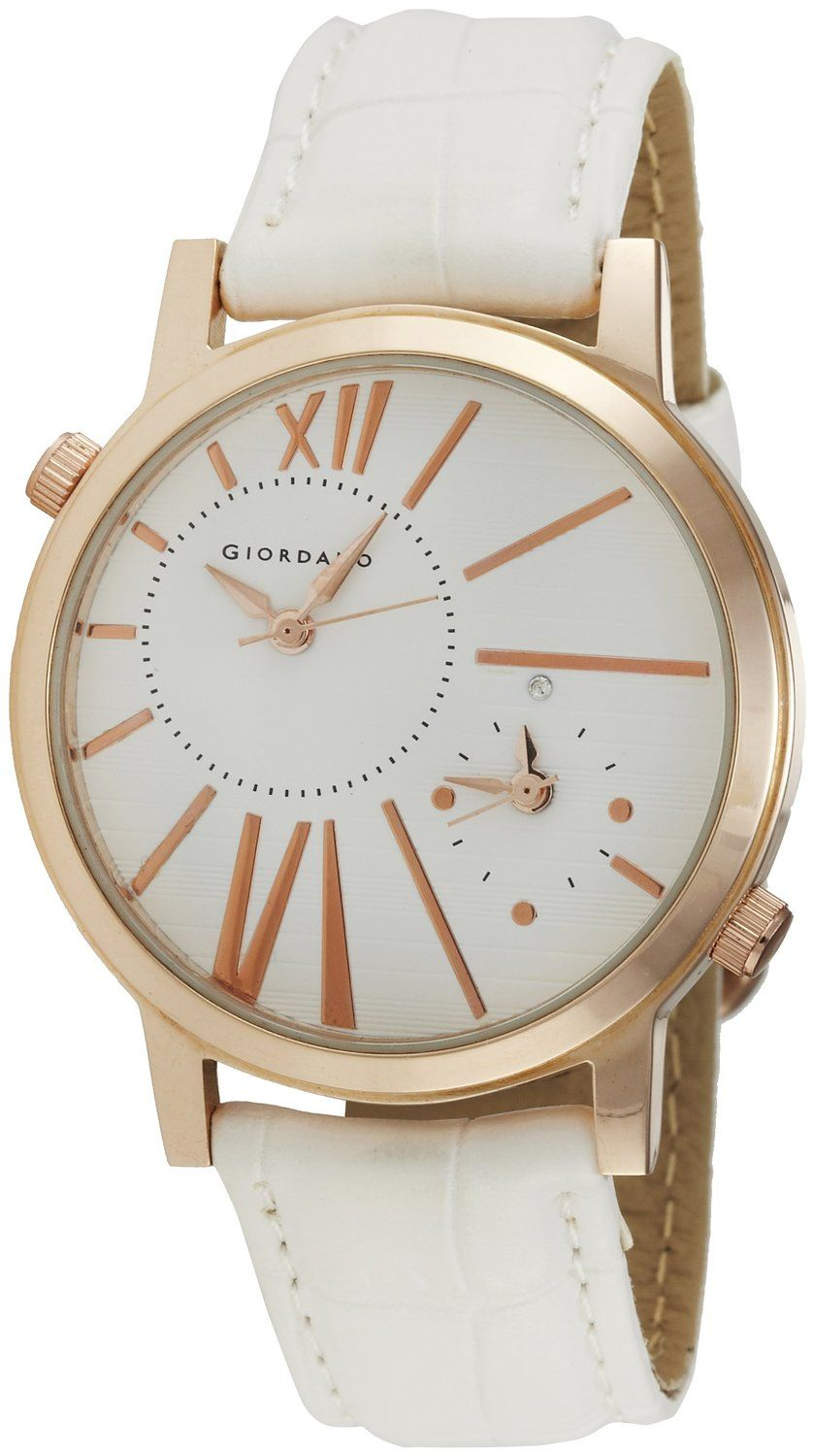Buy Giordano Analog White Dial Women\'s Watch At Rs 1095 Lowest ...