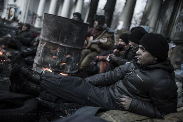 Occupy Kiev / Life on Behance
