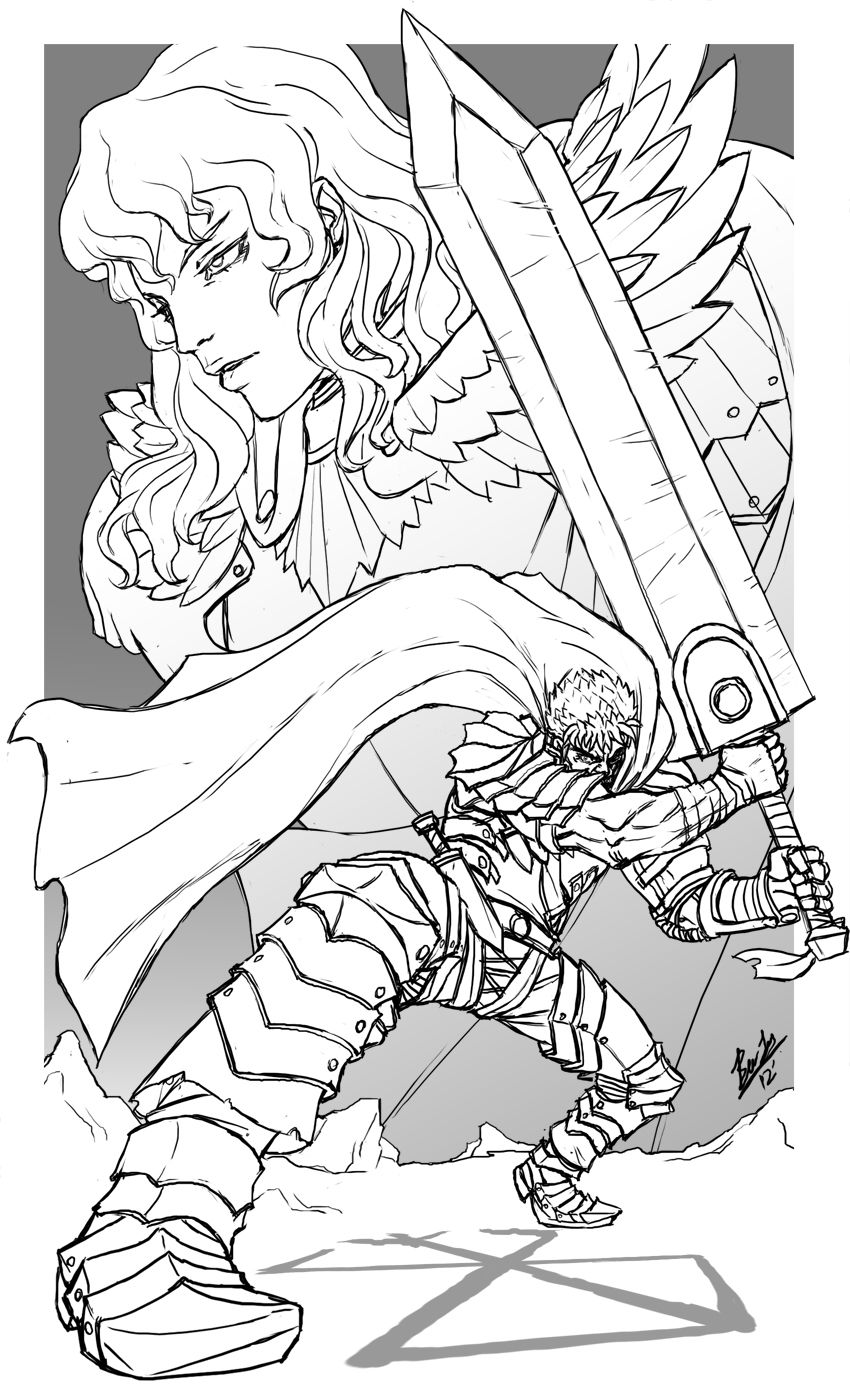 Berserk By Guts N Effort On Deviantart Berserk Drawings Griffith Berserk