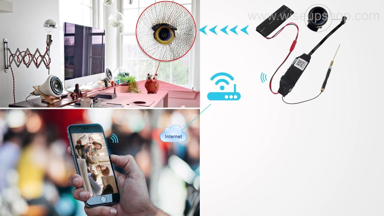 Network Configuration Instruction Of Hd Mini Wifi Spy Camera Module Home 2channel Remote View Mobile Dvr With Shock Sensor And Mod