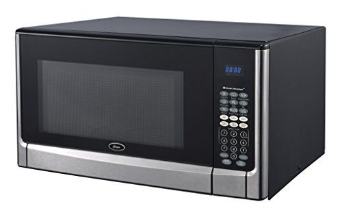 Oster Ogyz1604vs 1100w Invertersensor Microwave Oven 16 Cu Ft Stainless Steelblack Find Out More About The Gre Countertop Microwave Microwave Oven Microwave