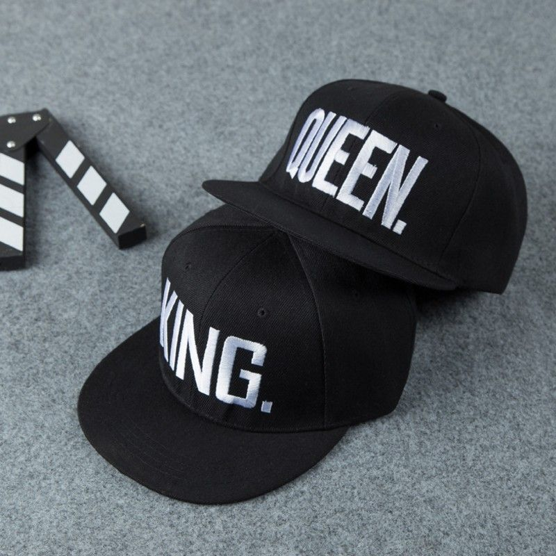KING QUEEN Embroidery Snapback Hat Baseball Caps Men Women Girl Boy Lovers  Couple Gifts Casquette Fashion 1d8111924b95
