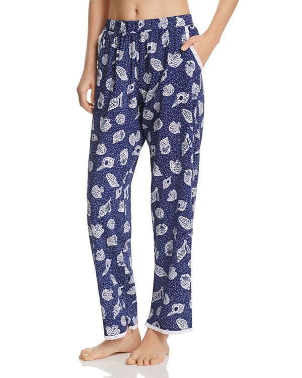 c3545286679c Jane   Bleecker New York Shell Lawn Eyelet Pajama Pants