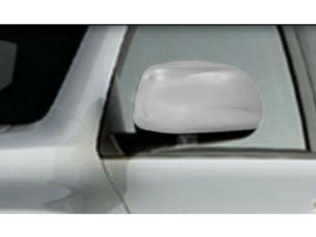 HIGHLANDER 2008-2013 TOYOTA & TACOMA 2012-2015 TOYOTA (2 pieces: Mirror Cover set (without cutout for light): *Chrome Plated ABS plastic - Imported) MC28110