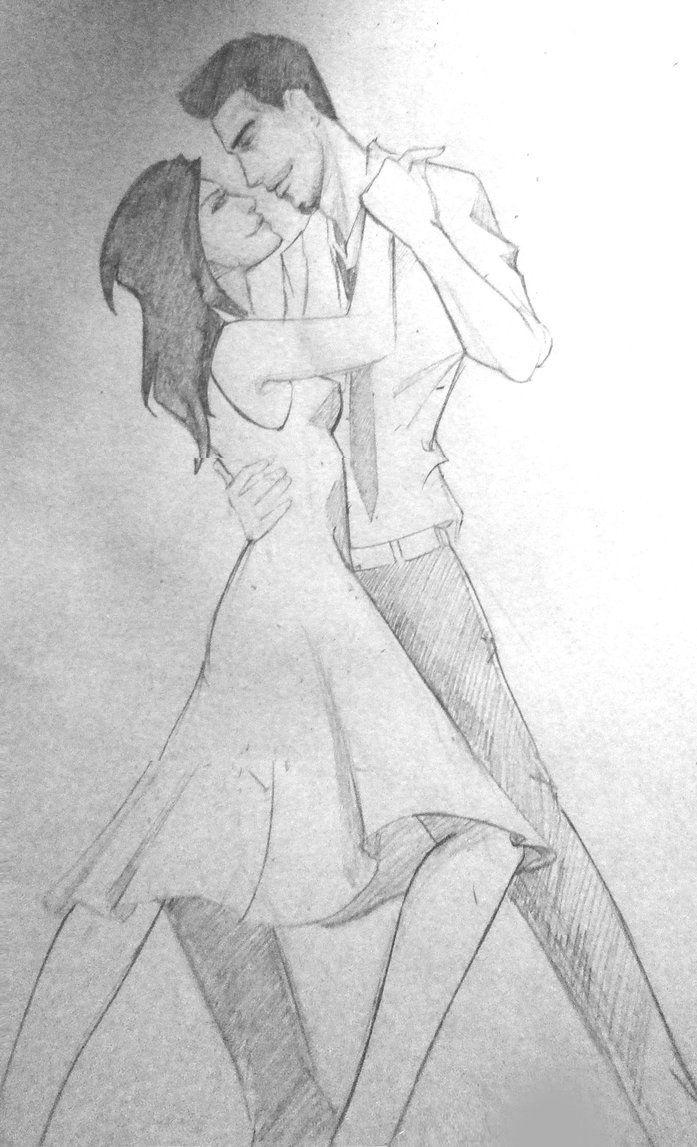 Dance pencil sketch by adoralynn on deviantart