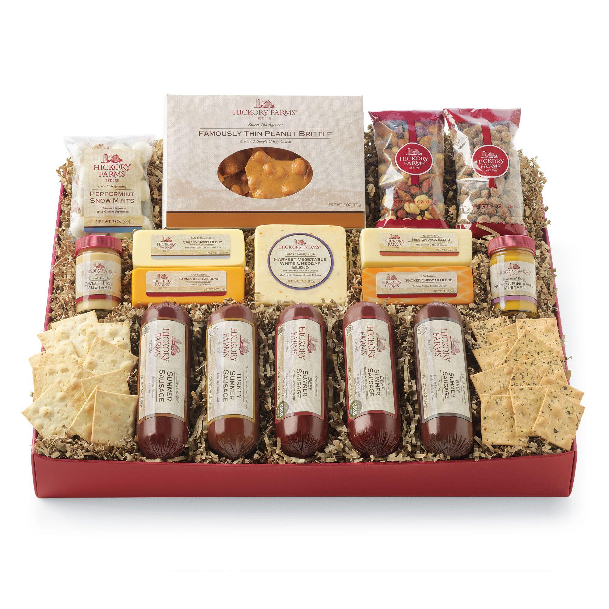 All Day Celebration Gift Box | Hickory Farms #TraditionTalk ...