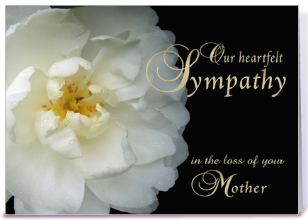 Death Of Mother Condolence Messages  Innige Simpatie