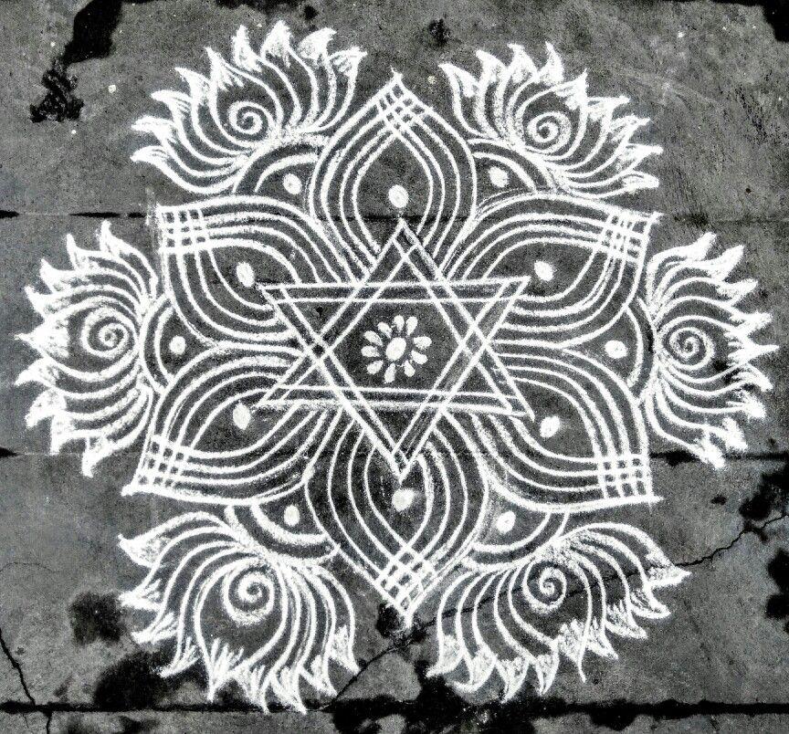 Pin by VASAVI VEDANTAM on Handpainted Small rangoli