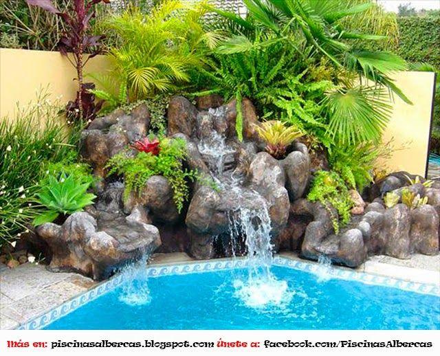 Juegos de agua para piscina piscinas pinterest for Piletas de agua para jardin