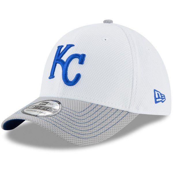 finest selection 56f81 3c509 ... 9twenty adjustable hat 62e16 cd028  low cost mens kansas city royals new  era white gray two tone rapid 39thirty flex hat