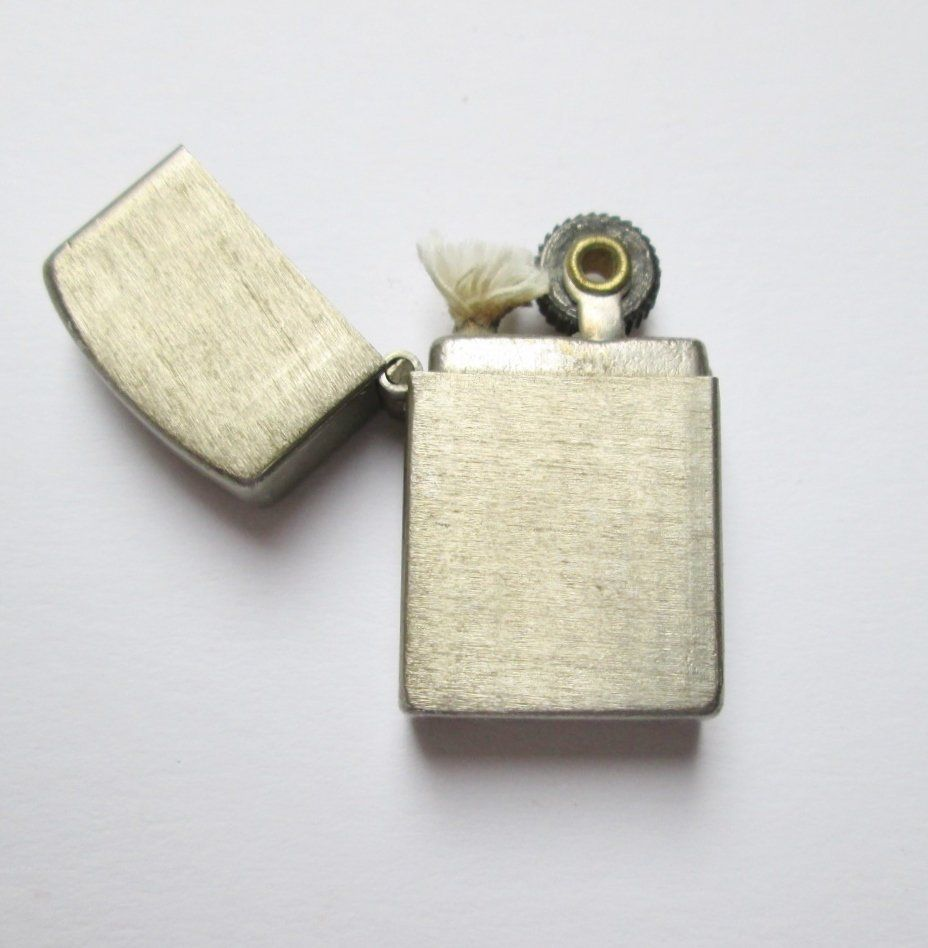 Vintage Metal Miniature Japanese Gasoline Lighter Zippo Type